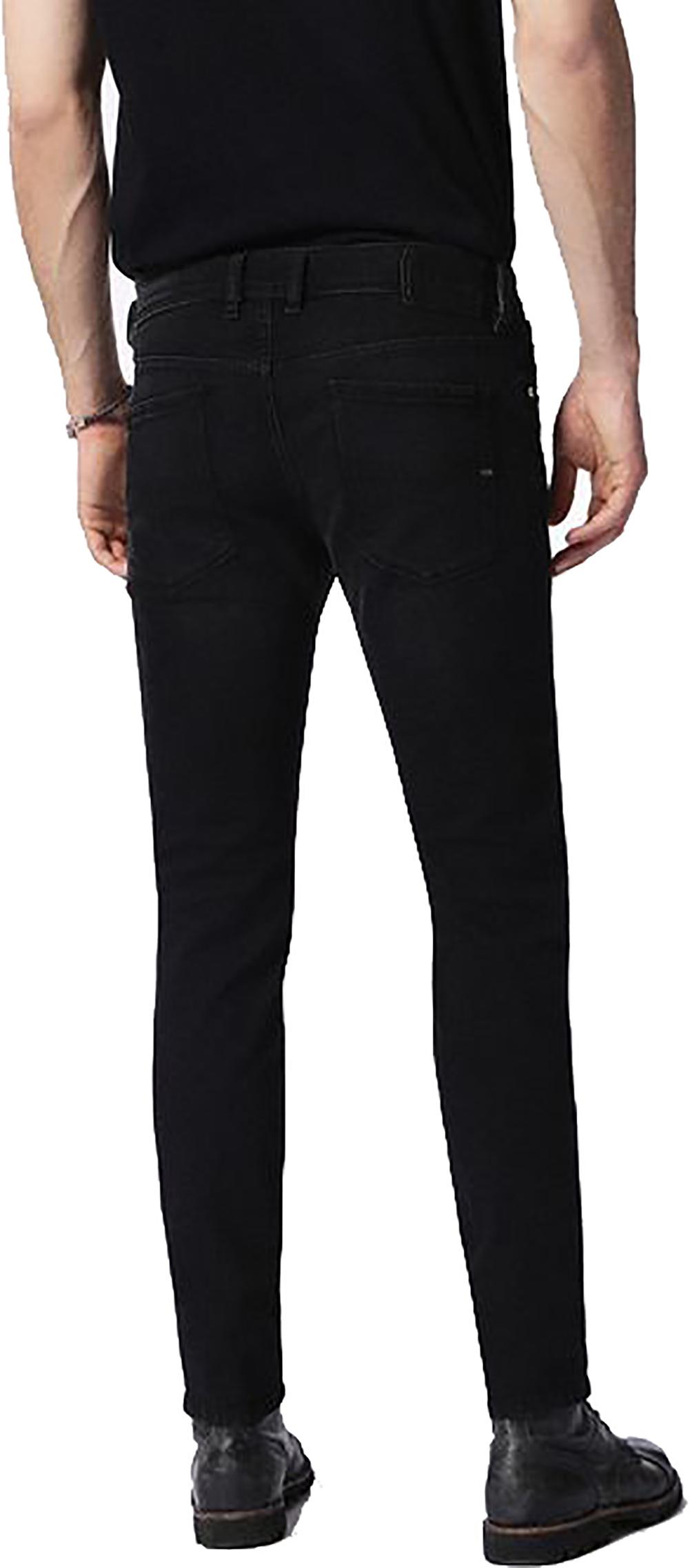 692fb9fb Diesel Sleenker 0674S Skinny Jeans in Black for Men